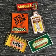 Vintage Kooky Patches Lot Topps Wacky Packages Patch 70s Funny Parody Rare Daffy