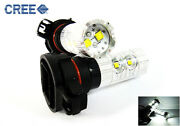 Pair H16 Xb-d Led Projector Drl Daytime Running Light 50w 6000k For Cadillac
