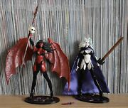 Lady Death Purgatori Chaos Comics Moore Action Figures Used Excellent