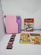Leap Frog Leappad Electronic Learning System Console Pink Purple