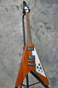 Gibson Flying V Antique Natural 2019 Made In Usa Electric Guitar, O1085