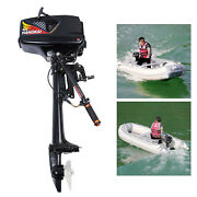 3.6hp 2 Stroke 55cc Gasoline Outboard Motor Boat Engine Cdi Water Cooling System