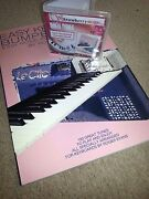 Easy Keyboard Bumper Book Usb And Book Set For Yamaha Tyros, Cvp And Psr-s Models