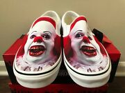 Classic Slip-on Terror It Pennywise Vn0a5ao85db Size 5-13 100 Authentic
