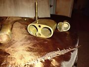 Vintage Chinese Poppy Opium Water Pipe Brass Antique Free Shipping