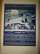 Mumford And Sons Chuck Sperry Railroad Revival Tour Screen Print Poster Signed