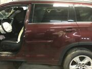 14 Toyota Highlander Driver Rear Side Door One Touch Up And Down Front Windows