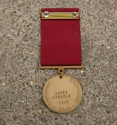 Ww2 Usn Navy Good Conduct Medal Named To Destroyer Torpedoman 1947 Date