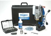 Hougen Hmd904s 115-volt Swivel Base Magnetic Drill Fabricatorand039s Kit With Inte...