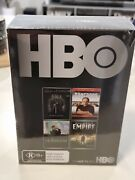 Hbo 4 Movie Set/ Gameand039s Of Thrones/the Sopranos/the News Room N Boardwalk Empire
