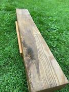Fireplace Mantel Shelf Rustic Hand Hewn Wood Fire Place Mantle Live Edge Rustic
