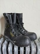 Vintage 1984 Bata Mickey Mouse Military Cold Weather Zone Boots 10 N /valve -usa