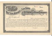 The New Jersey And New York Extension Railroad Company...1880and039s Stock