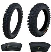 14 12 Front And Rear Tires Tube 60/100-14 80/100-12 For Crf70 Xrf100 Klx110 Pw80