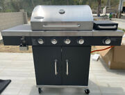 1 Pc 27.5x16.5 Multifunctional Courtyard Outdoor Stainless Steel Gas Bbq Grill