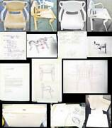 Thonet Prototype Chairs With Patent Techical Drawings Photographs And More Ooak