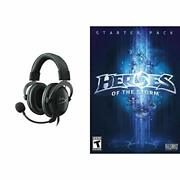 Heroes Of The Storm Starter Pack - Pc/mac Digital Code And Headset Bundle