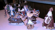 Duncan Royale Christmas Figurines Signed Numbered Boxes Booklets