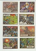 30 X 1962 Topps Civil War News Card Lot W/ Cards Listed In Description - Vg+ To