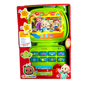 Cocomelon Sing And Learn Laptop Toy Singing Sounds Educational New Free Shipping