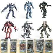 7 Scale Jaeger Action Figure Toys Gift Set New Box Package For Pacific Rim 1 2