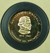 1973 Republic Of Colombia 1500 Proof .900 Gold Coin