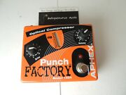 Aphex Model 1404 Punch Factory Optical Compressor Effects Pedal