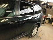 Driver Rear Side Door Electric Without Sunshade Fits 16-18 Pilot Green 3215225