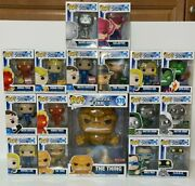 Funko Pop Marvel Fantastic Four Exclusive Lot Of 17 Mint Boxesships Worldwide