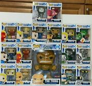 Funko Pop Marvel Fantastic Four Lot Of 17 Exclusive Mint Boxesships Worldwide