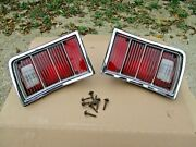 Chevrolet Chevy 74 75 76 Impala Caprice Estate Station Wagon Rear Taillights