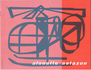 Sud Aviation Alouette / Astazou Manufacturers Sales Brochure Helicopter French
