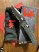 Benchmade Hk Knives 14210sbt Snody 154cm Axis Lock Knife Discontinued New Cond.