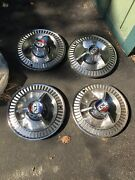 1964 Ford Galaxie 500 Xl Hubcaps Set Of 4
