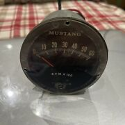 1964 1965 1966 Mustang Rally Pac Tachometer 6k Used As Is For Parts