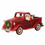 Jim Shore Country Living Large Red Truck - Loads Of Christmas Cheer 6009128
