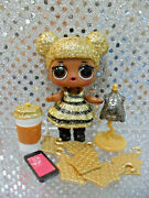 New Lol Surprise Queen Bee Doll And Accessories All Items Completely Sealed