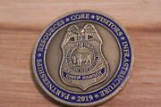 National Park Service Department Of The Interior Chief Ranger Challenge Coin