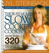 The Busy Mom's Slow Cooker Cookbook [plastic Comb] Steinback, Jyl