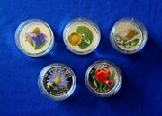Little Creatures Murano Glass 1 Ounce Silver 6 Coin Set From Canada