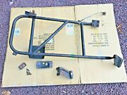 84-01 Jeep Cherokee Xj - Exterior Spare Tire Carrier Oem Rare For Rear Bumper