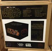 Rare Mint Never Opened Marvel Star Wars 2016 Book Set With Poster