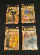 1999 Mcfarlane Toys The Beatles Yellow Submarine Complete Set Of 4 New/mint