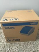 Brother Ql-1100 Wide Format Postage Barcode Pro Thermal Label Printer