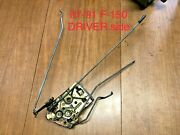 87-91 Ford F150 Bronco F250 F350 - Driver Door Latch Assembly W/ Rods Oem - Lh