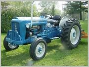 Ford Tractor 2000 Thru 7000 Service, Parts, Owners And Attachment Manuals Cd