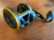 Penn Squall 40ldlh Left Handed Fishing Reel Good Used Condition