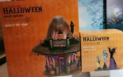 Dept 56 Hattieand039s Hat Shop And Hattieand039s Hats Custom Fitted Both Bnib Witch Hollow
