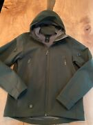 Tad Gear Stealth Hoodie Me Green Size Large No Patches