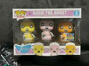 Funko Pop Rosie The Robot 3-pack The Jetsons 2017 Sdcc 2000le